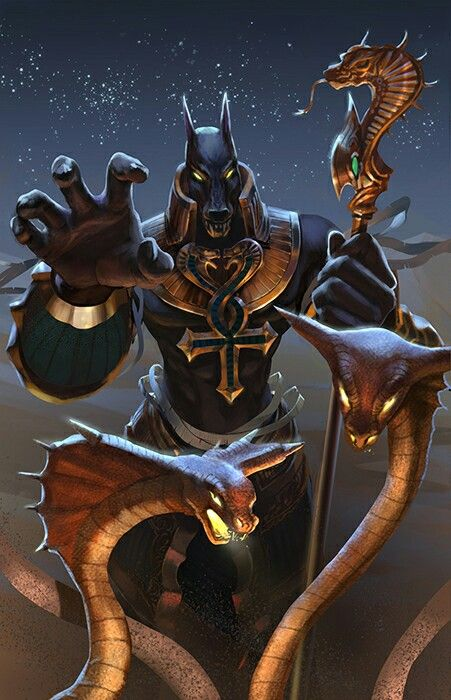 Anubis Egyptian God Of The Dead With Images Anubis Egyptian