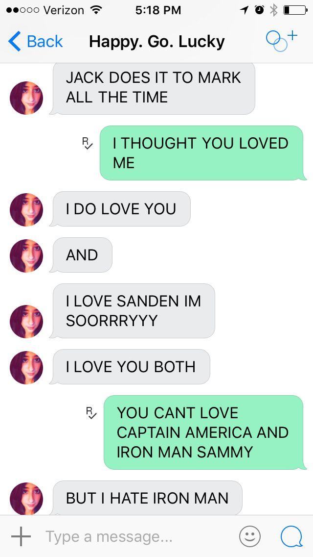 I love you Sammy XD