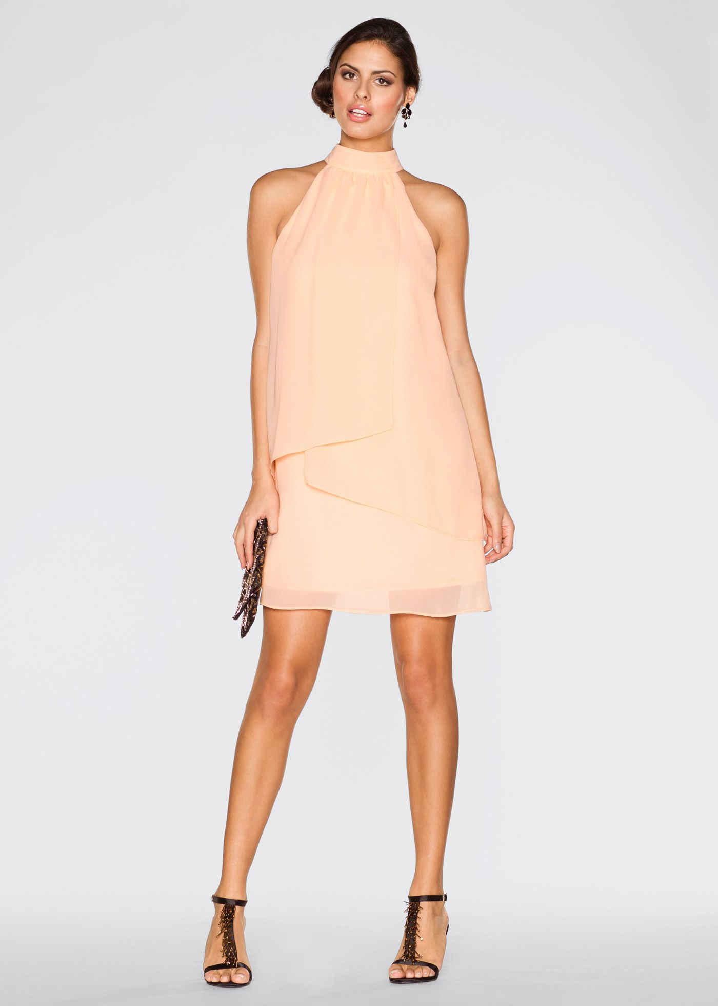 bonprix apricot dress - bojana krsmanovic related images