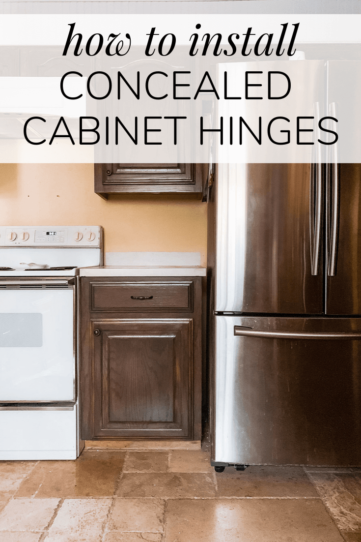 Tips And Tricks For Installing Euro Style Concealed Hinges How To Swap Out Your Visible Hinges Fo Kitchen Cabinets Hinges Concealed Hinges Hinges For Cabinets