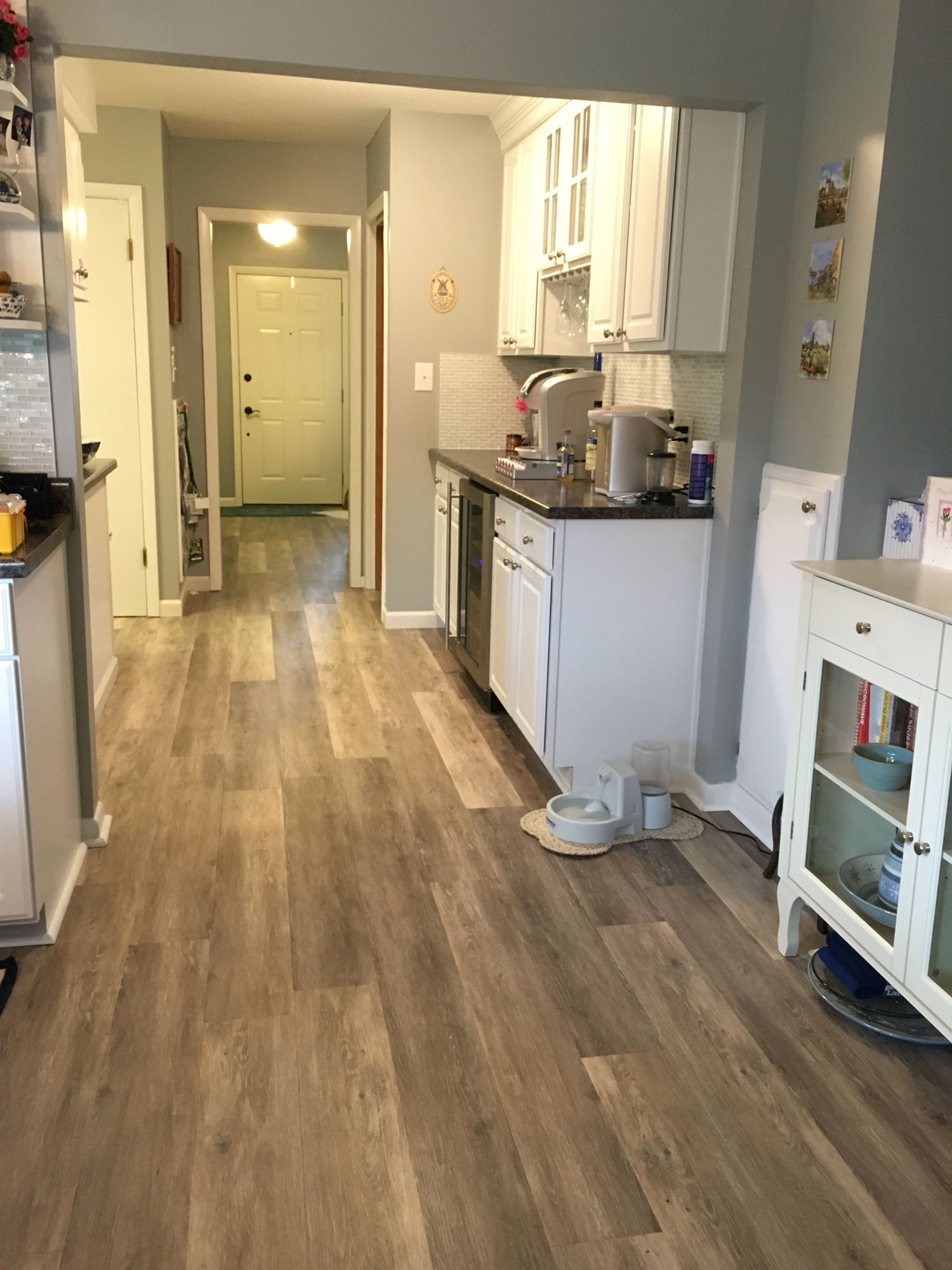 Kitchen luxury vinyl plank flooring pinterest luxury for Luxury kitchen flooring