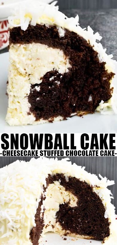 Easy Snowball Cake images