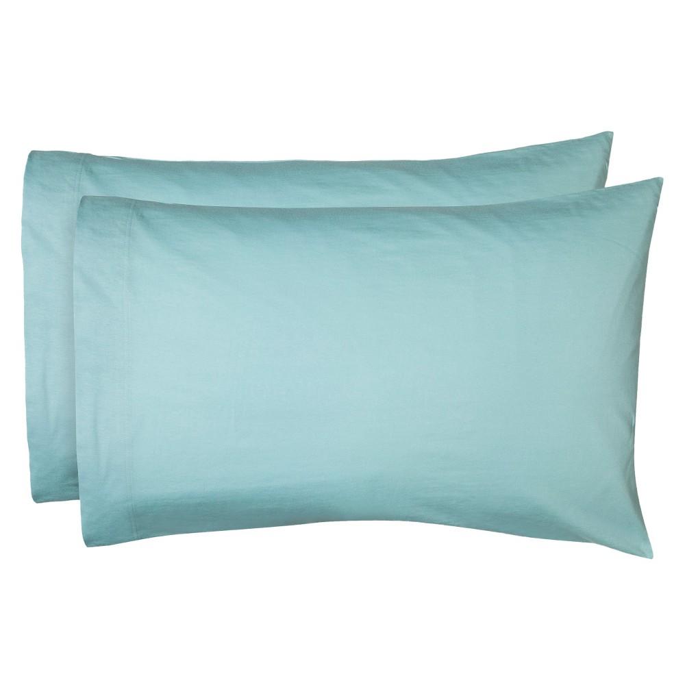 Standard Eventide Jersey Pillowcase Set Charming Pink - Room Essentials™