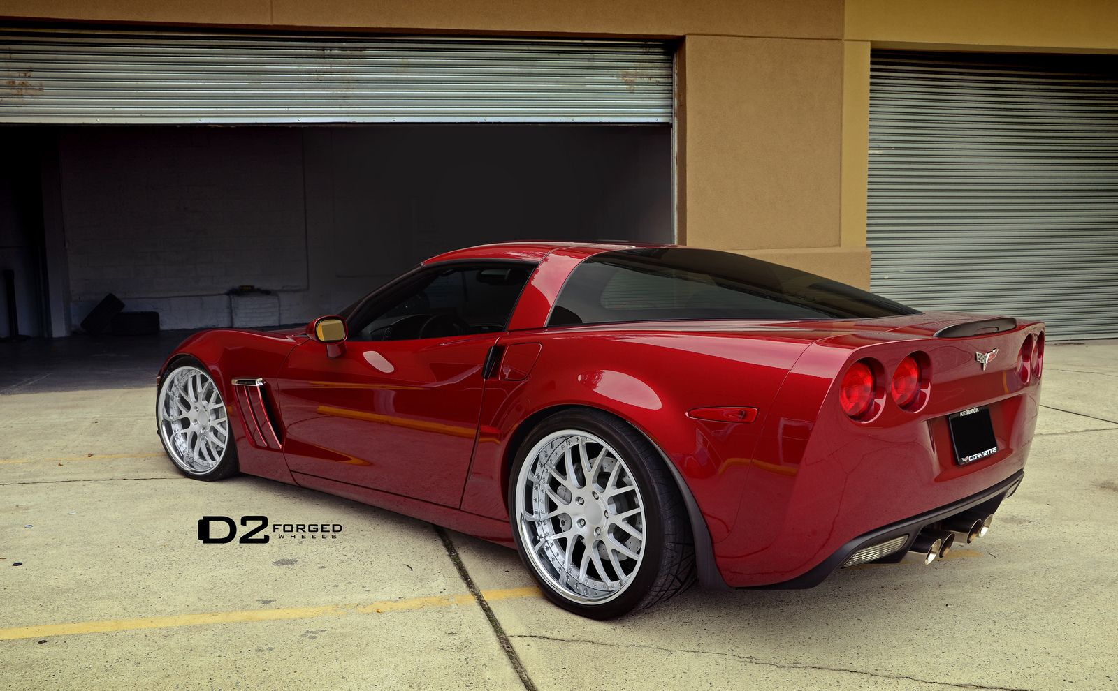 Gorgeous Burgundy Red Corvette Z06 On Our Fms01 Wheels Corvette Corvette Z06 Red Corvette
