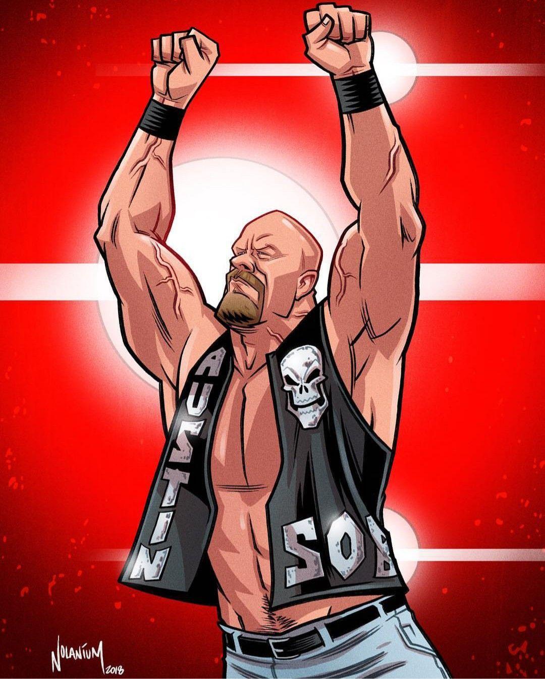 Stone Cold Steve Austin Wrestling Pinterest Wrestling Wwe Wwe