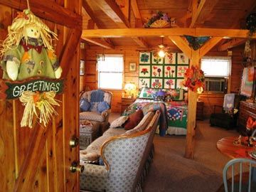 Elegant Bed And Breakfast Room Rates And Availability For Aunt Janu0027s Cozy Cabin Bed  U0026 Breakfast Bed And Breakfast Located In Spiro, Oklahoma.