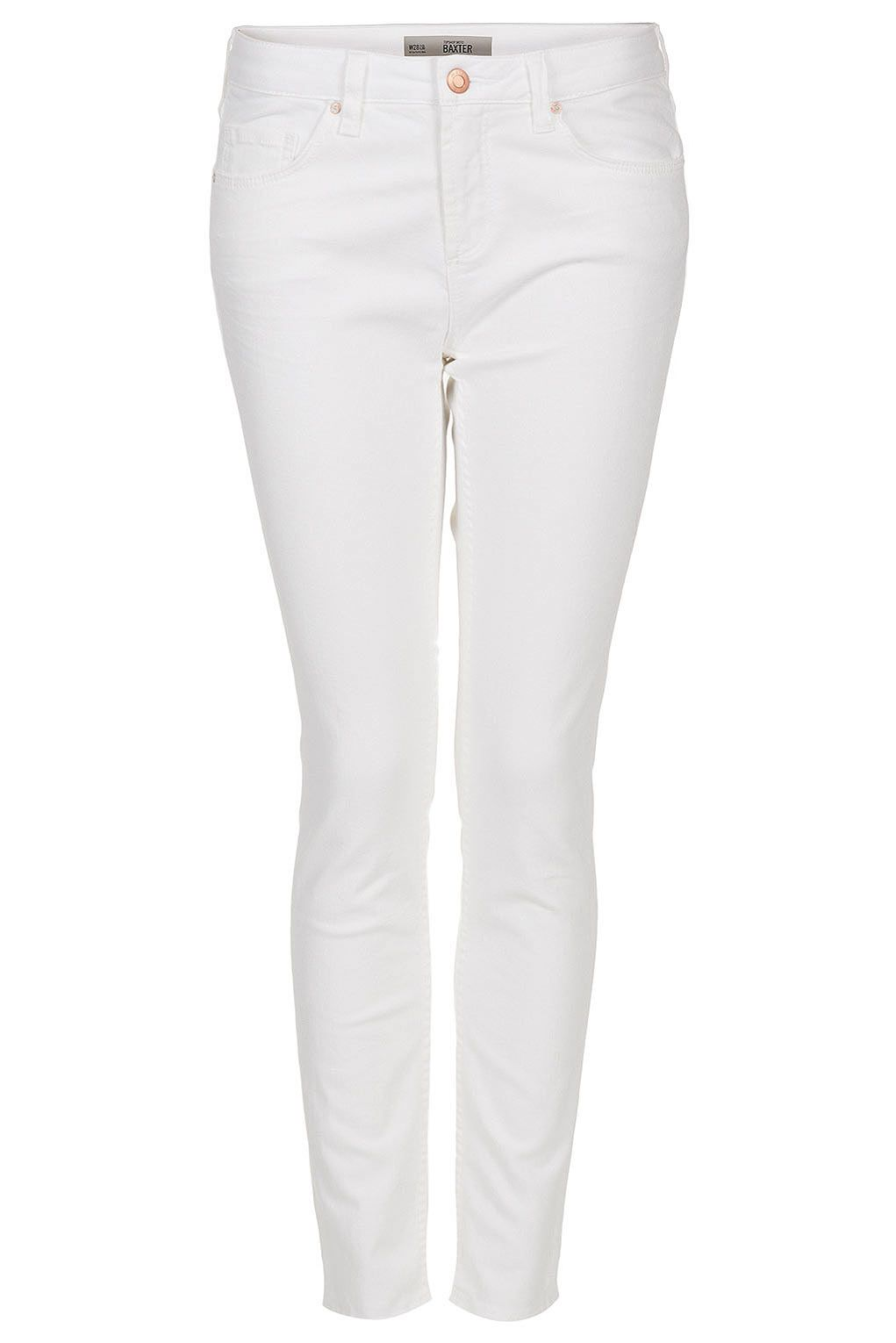MOTO White Baxter Skinny Jeans Weiße Outfits, Coole Outfits, Weiße Skinny- jeans, dd448945c7