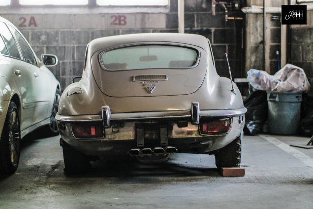Decaying Jaguar E-Type Has Seen Better Days