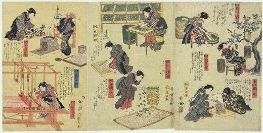 silk making in ancient china | Ancient Chinese Silk Making ...