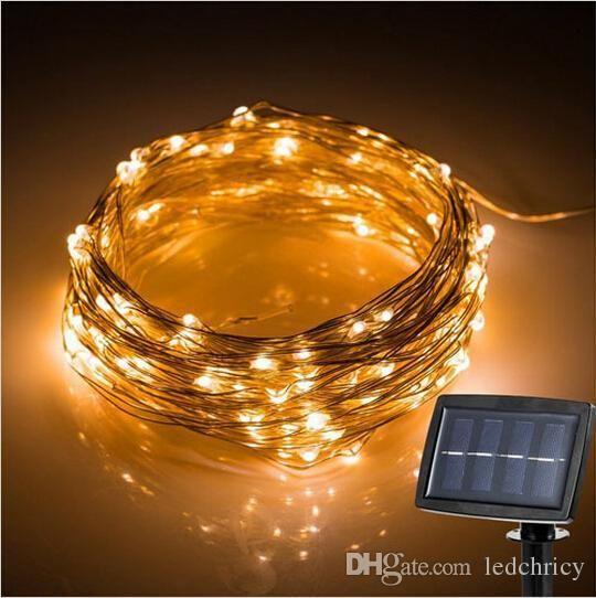 150 leds Outdoor LED String Fairy Light Solar Power Courtyard