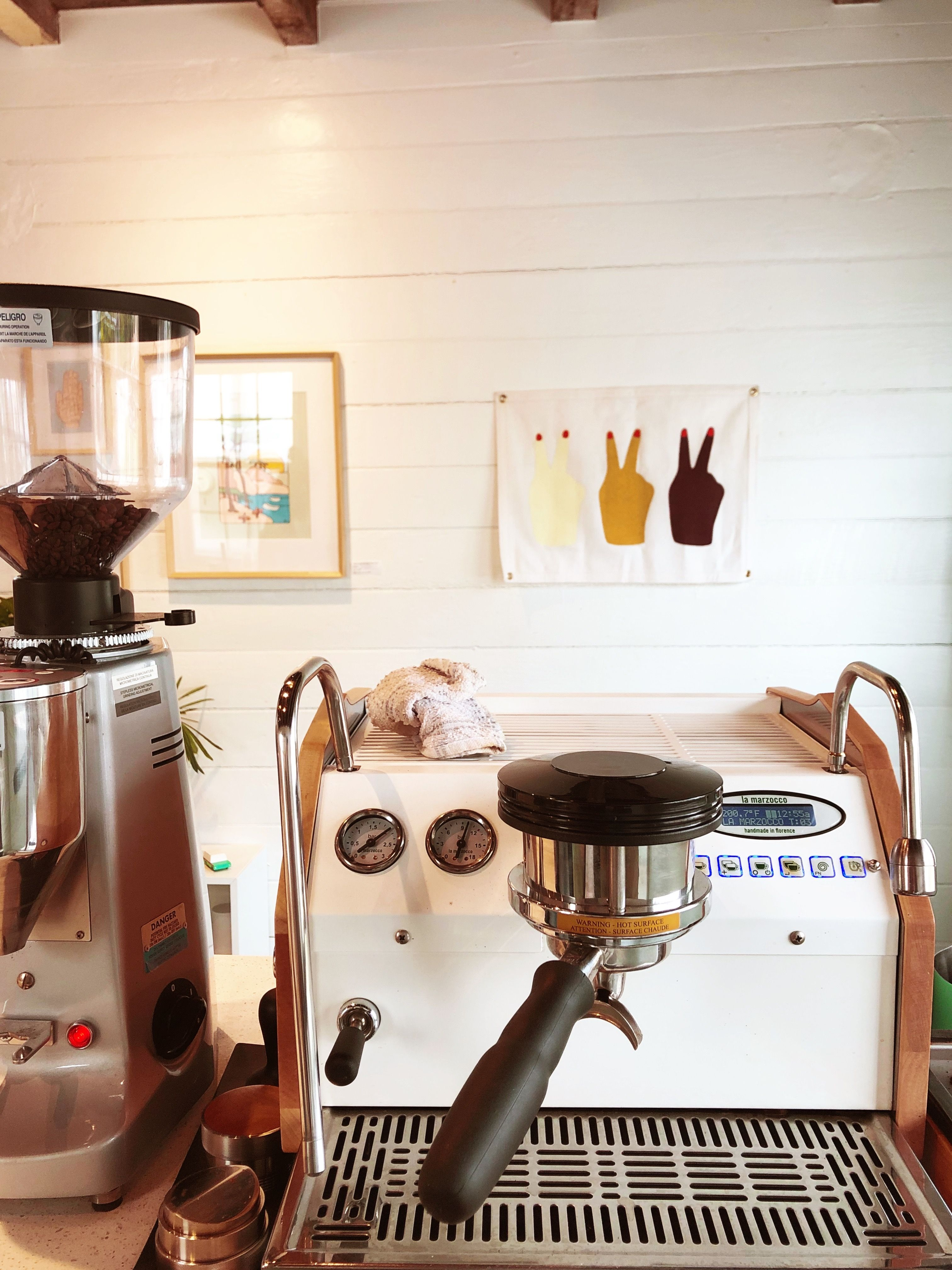 La Marzocco Gs3 And Oxford Pennant In 2020 Coffee Shop Coffee Crafts Sightseeing