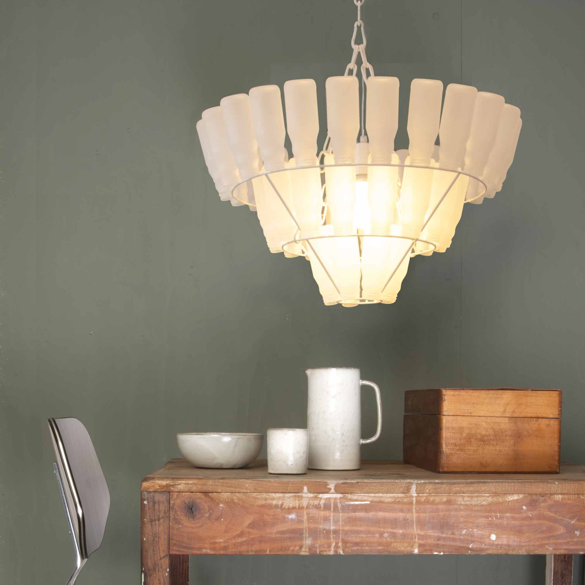 Recycled Lighting Fixtures