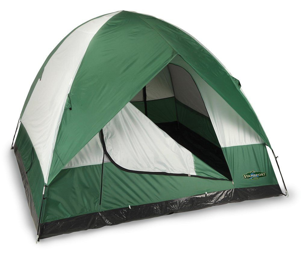 Stansport Rainier 2Pole Dome Tent 4 Person ** You can