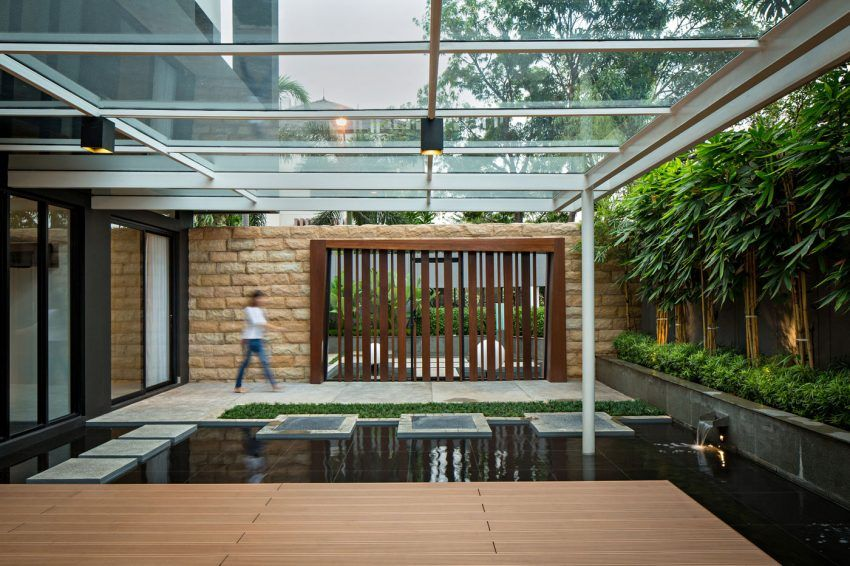 DPHS Architects Design a Private Residence in Jakarta Indonesia