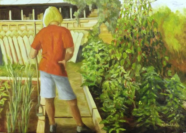 The gardener by valerie biddulph