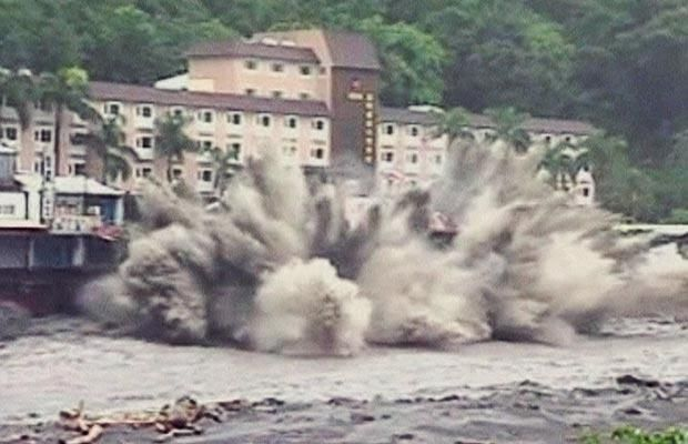The Devastion Caused By Typhoon Morakot