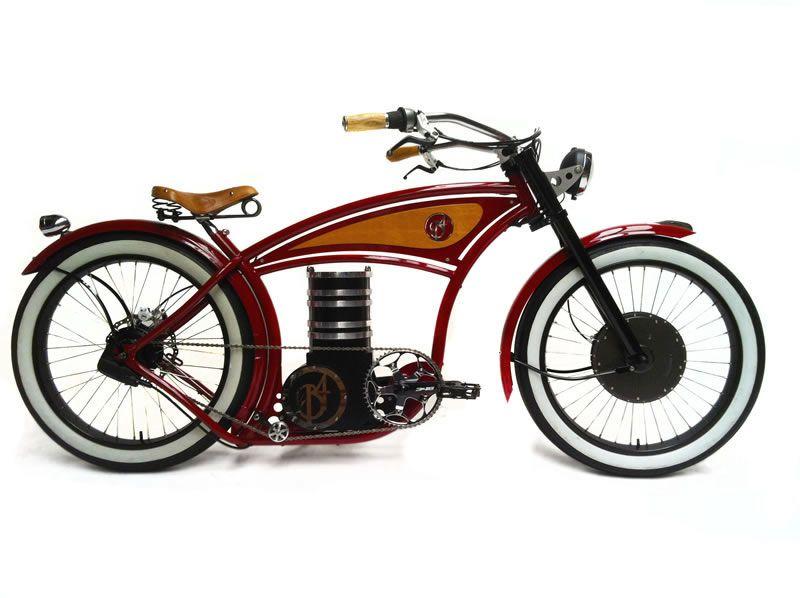 Un Cruiser électrique version Harley Vélo électrique