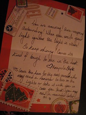 You Are Write Anonymous Inspirational Letters Leave Them