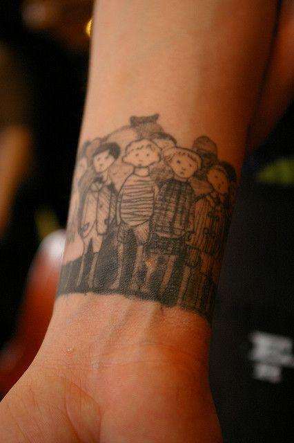 Edward Gorey Tattoo On The Wrist Wrist Tattoos Tattoos Cool Tattoos