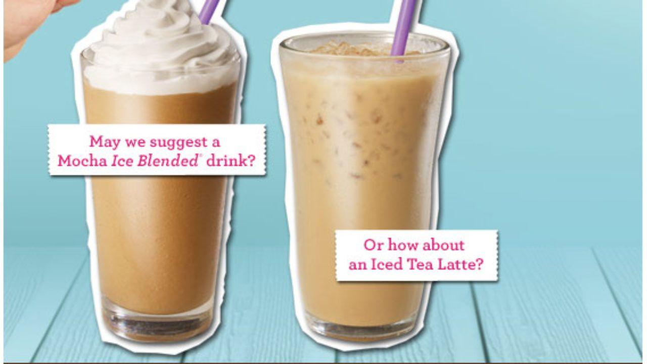 The Coffee Bean Tea Leaf Summer Receipt Deal Ing 101 Tea Leaves Coffee Beans Blended Drinks
