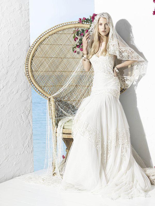 Brautkleid Hippie Luxus | Friedatheres | WEDDING | Pinterest ...