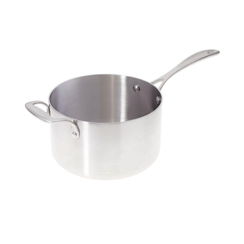 American Kitchen 4-quart Premium Stainless Steel Saucepan ...