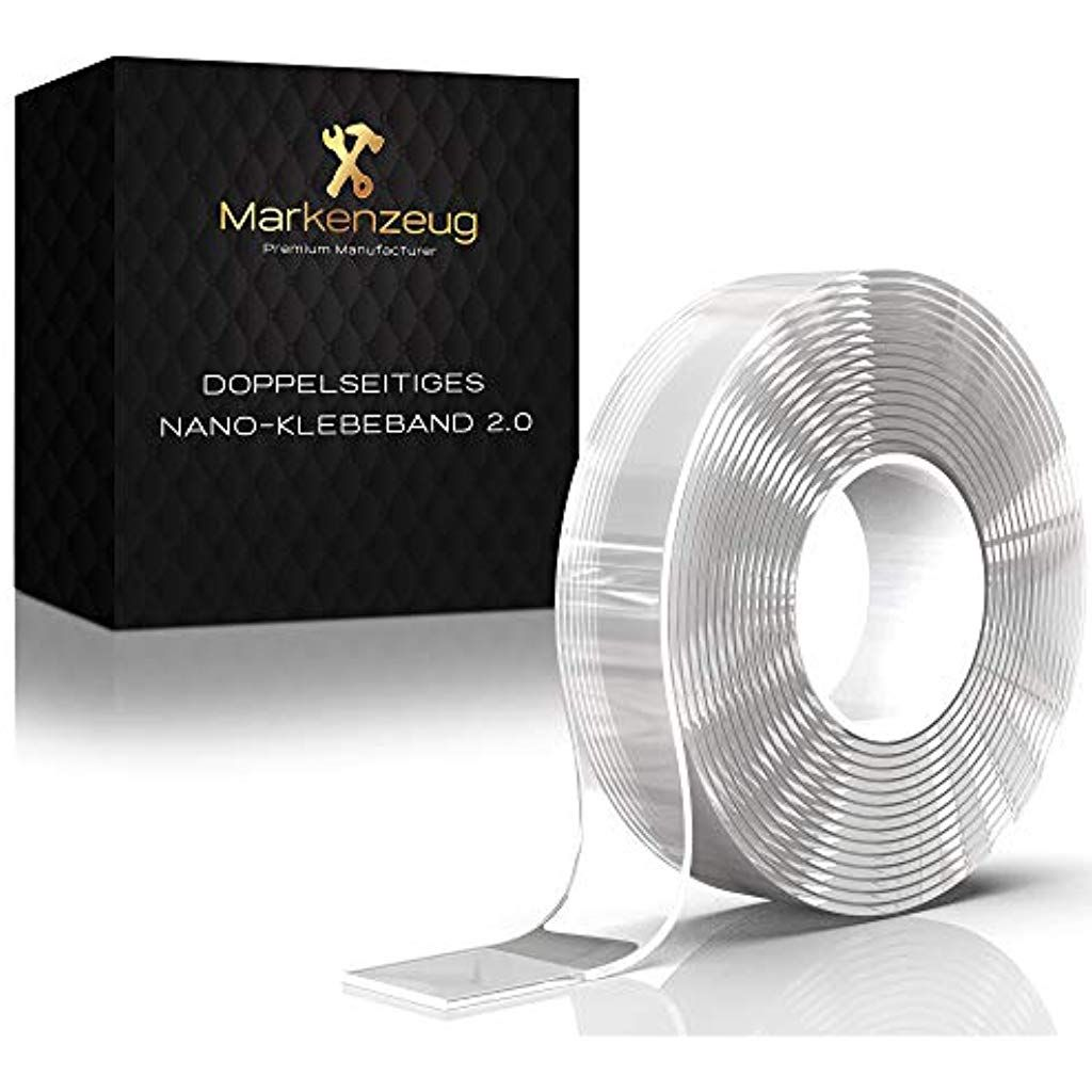Markenzeug Das Original Premium Nano Tape 3m Verbessertes