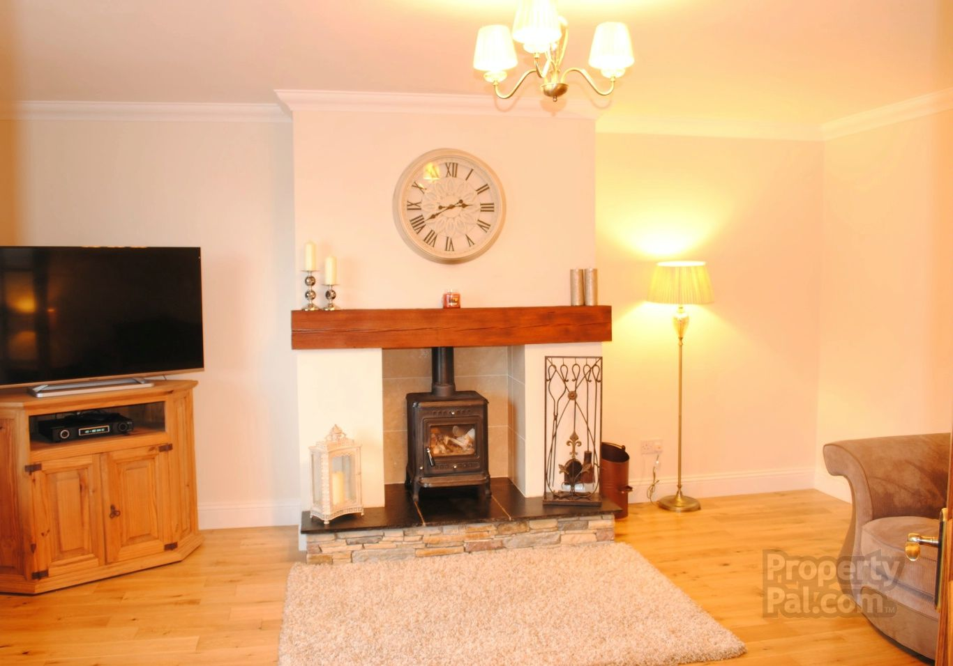 Stone Round Her Fireplace Property For Sale House Property
