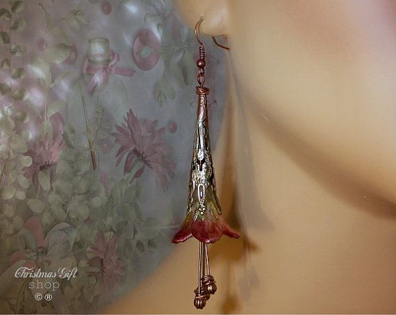 Fun Whimsical Light weight dangle earrings  by Christmasgiftshop