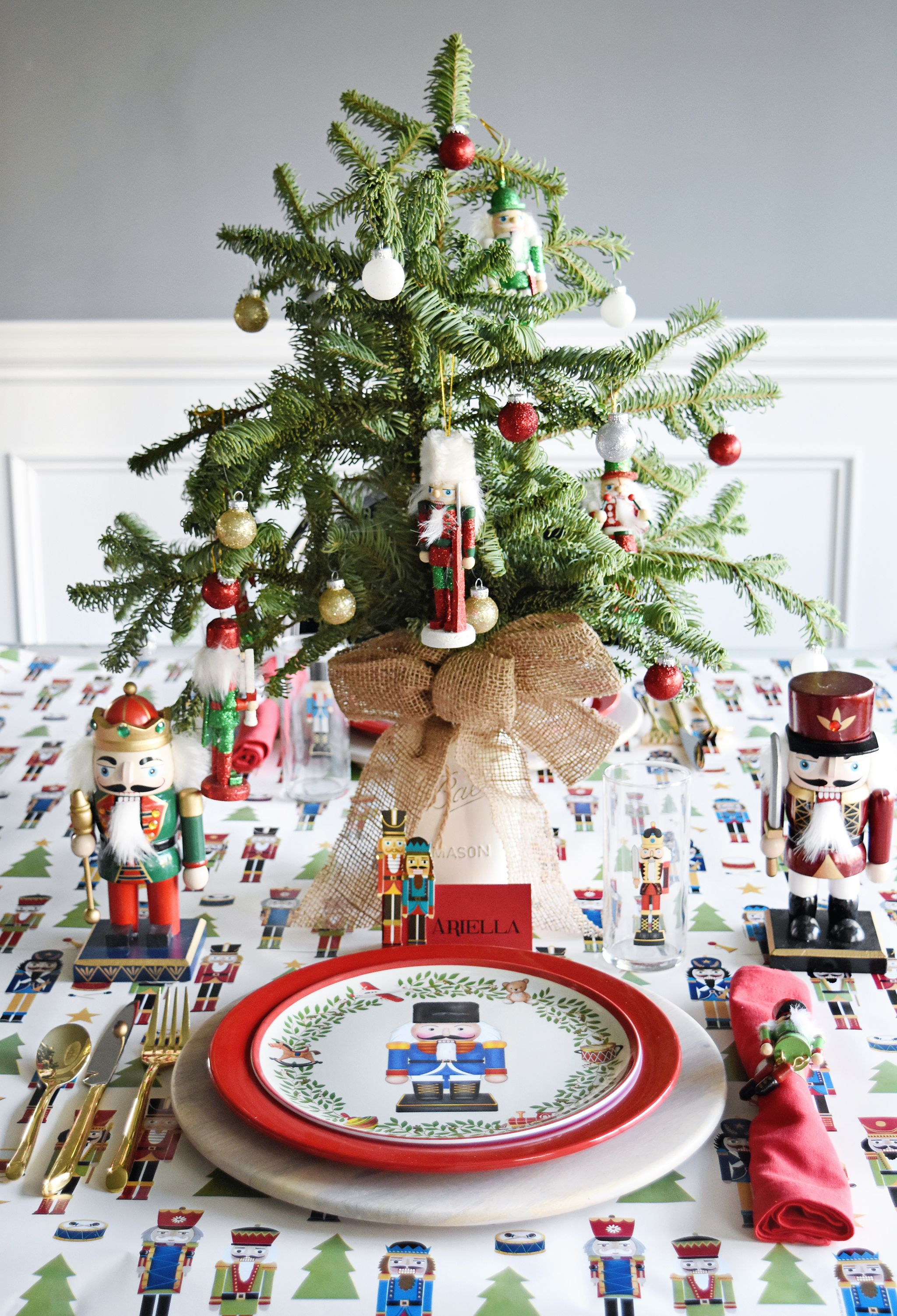 Host A Nutcracker Themed Party Project Nursery Nutcracker Christmas Party Nutcracker Christmas Tree Nutcracker Christmas Decorations