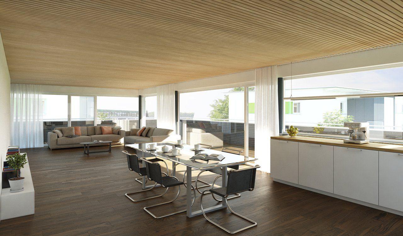 Innenraumperspektive BV Lorettostraße Architektur