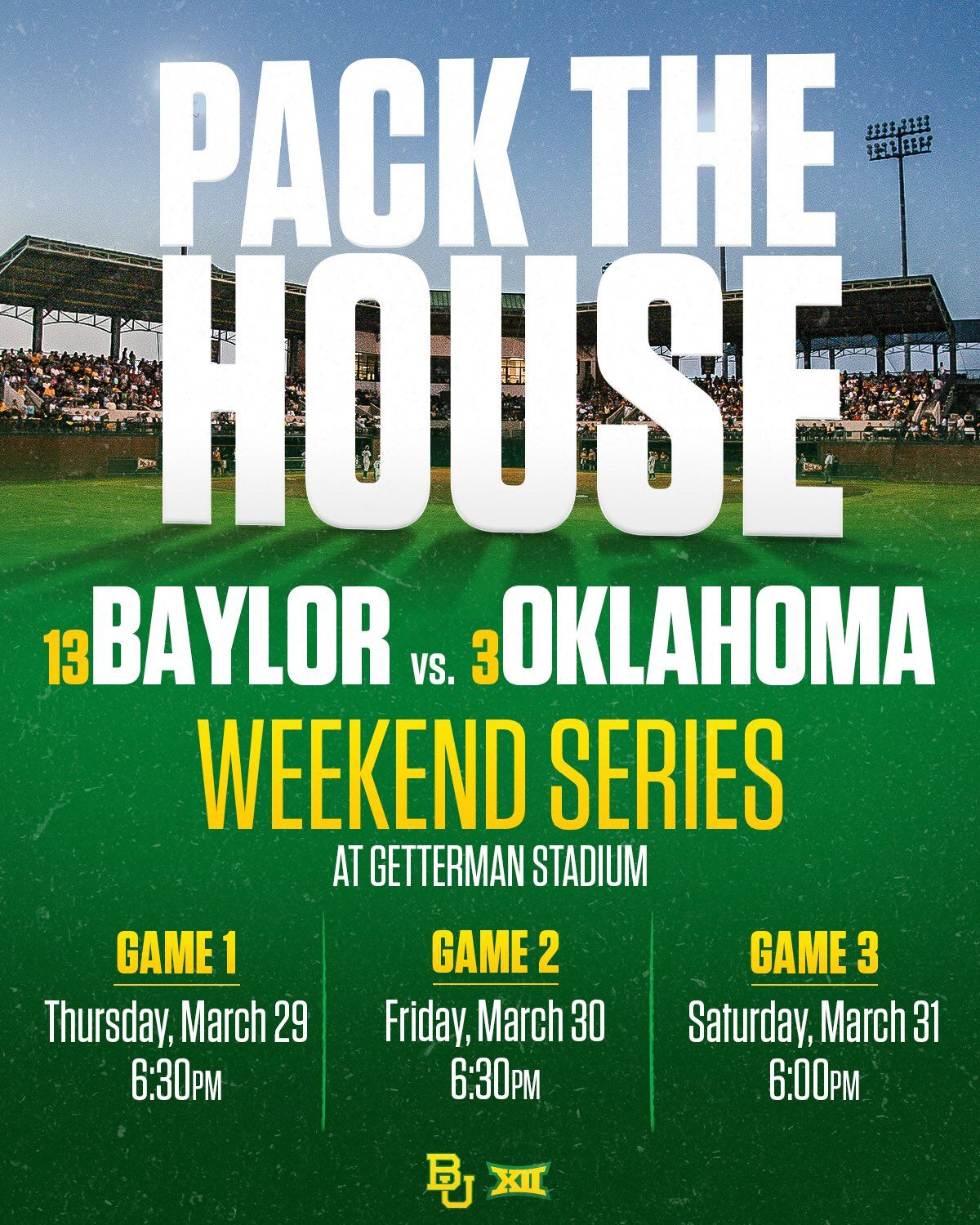Baylor Athletics (BaylorAthletics) Twitter Baylor