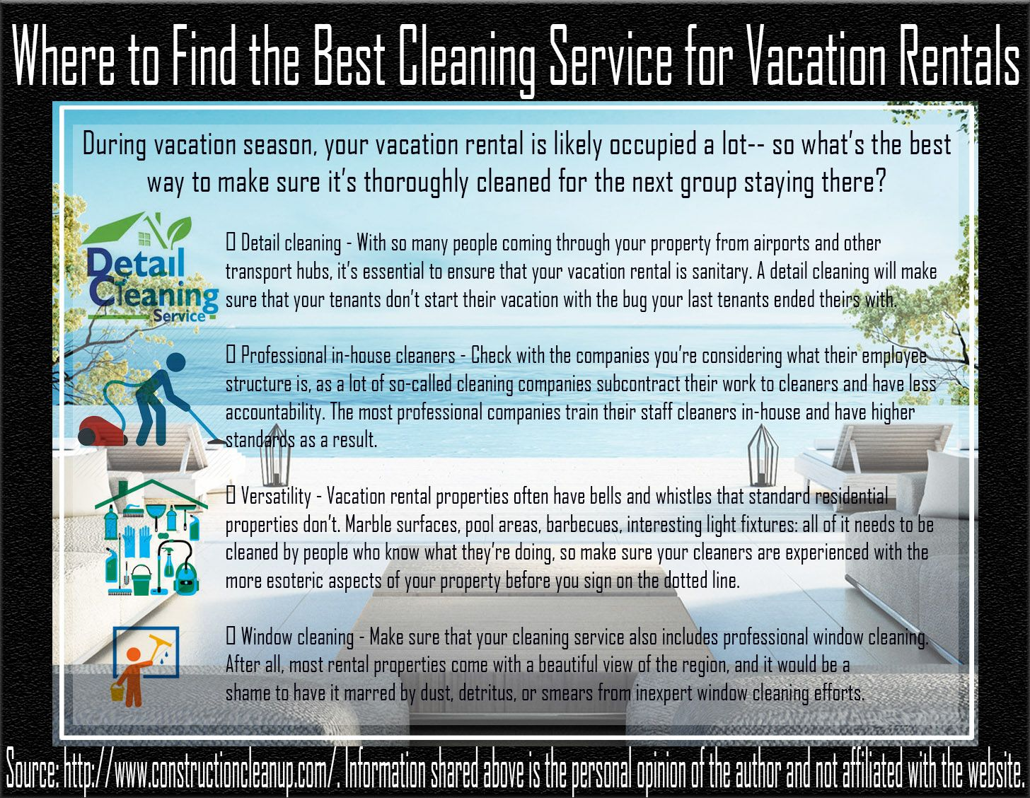 Pin On Where To Find The Best Cleaning Service For Vacation Rentals