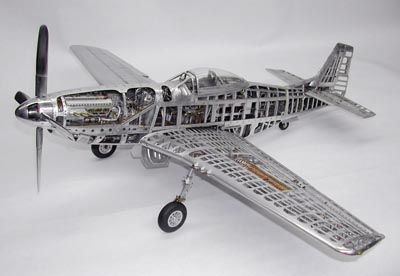 Model Makers—Young C  Park P-51, like the first Corsair is