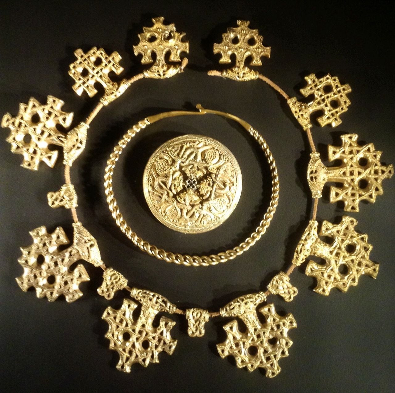 233a383c65101 Viking jewelry, currently on display at the National Museum of ...