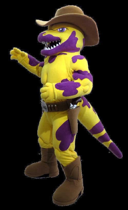 09785845f61f This is the Eastern Arizona College Gila Hank Lizard Custom Mascot ...