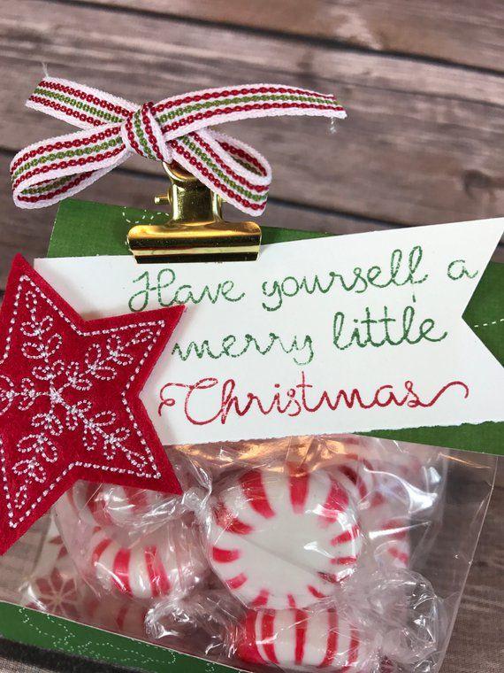 Christmas Gift Bag - Mini 3x6 Gusset Christmas Goodie Bag Class Kit