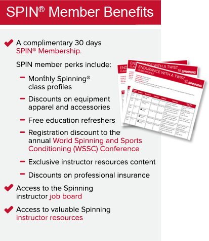 Fitness Instructor Certification Become A Spinning Instructor