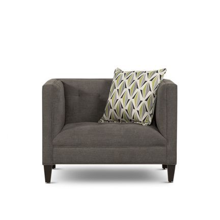 Planet Decor Elite Form Single Seater Sofa Grey - Add oodles of ...