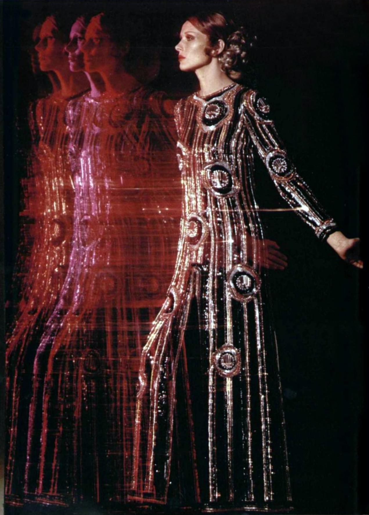 Pierre Cardin L'officiel magazine 1970