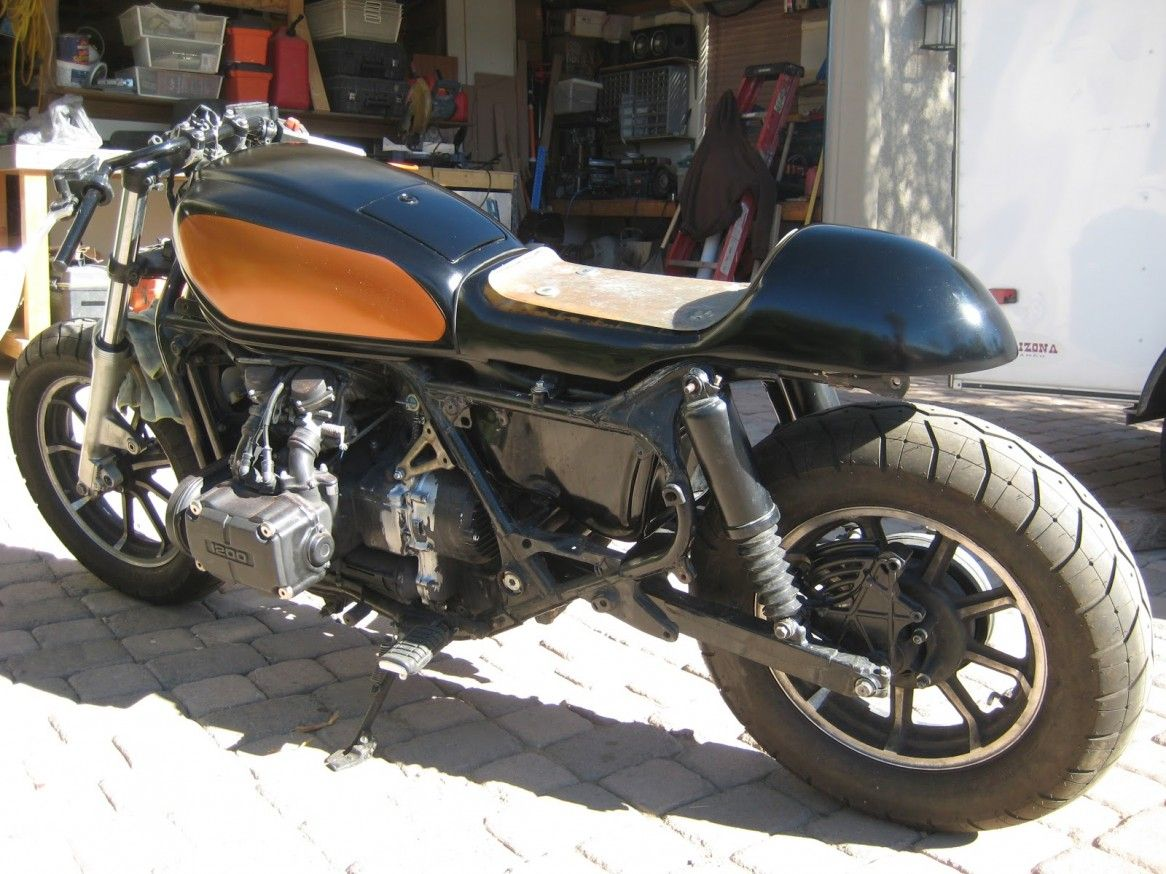 cafe racer: good-looking honda goldwing cafe racer pictures