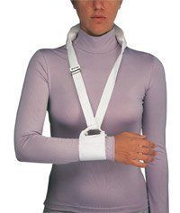 "ProCare Universal Cuff and Collar by ProCare. $24.00. Sizing Chart Depth x Length:  1.5 x 53"" Standard 1.5 x 55"" L/XL     The ProCare Universal Cuff and Collar is adjustable with a contact closure cuff that assures secure fit around the arm or cast and has a 1.5"" web strap with a stockinette covered foam neck pad.  Features and Benefits of The ProCare Universal Cuff and Collar   Adjustable contact closure cuff assures secure fit around arm or cast.  1"" web strap wit..."