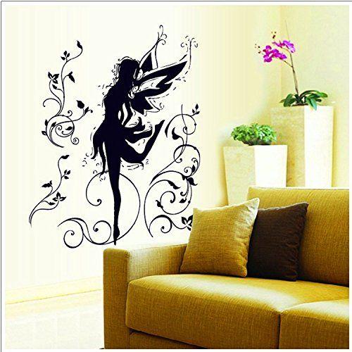 Amazon.com - Oderin Art Wall Decal Mural Dancer of Dark Elves Swing ...