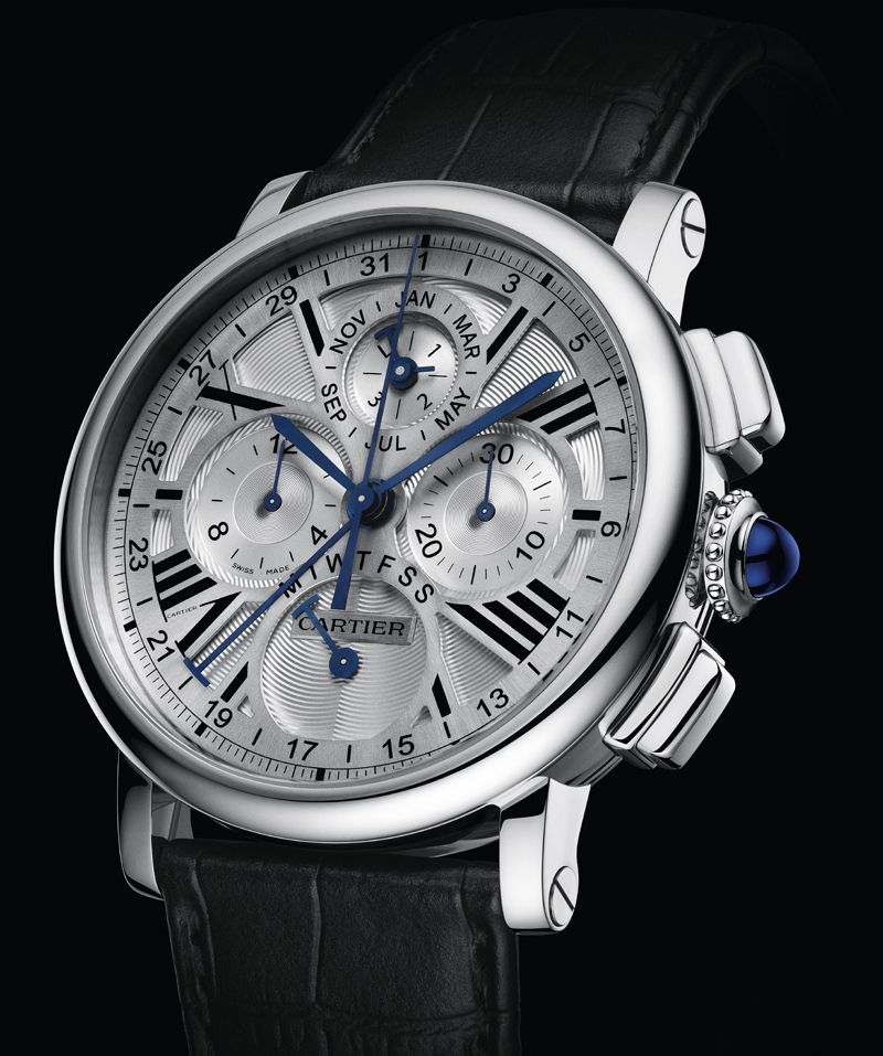 Cartier SIHH 2013- Rotonde perpetual calender chronograph ...
