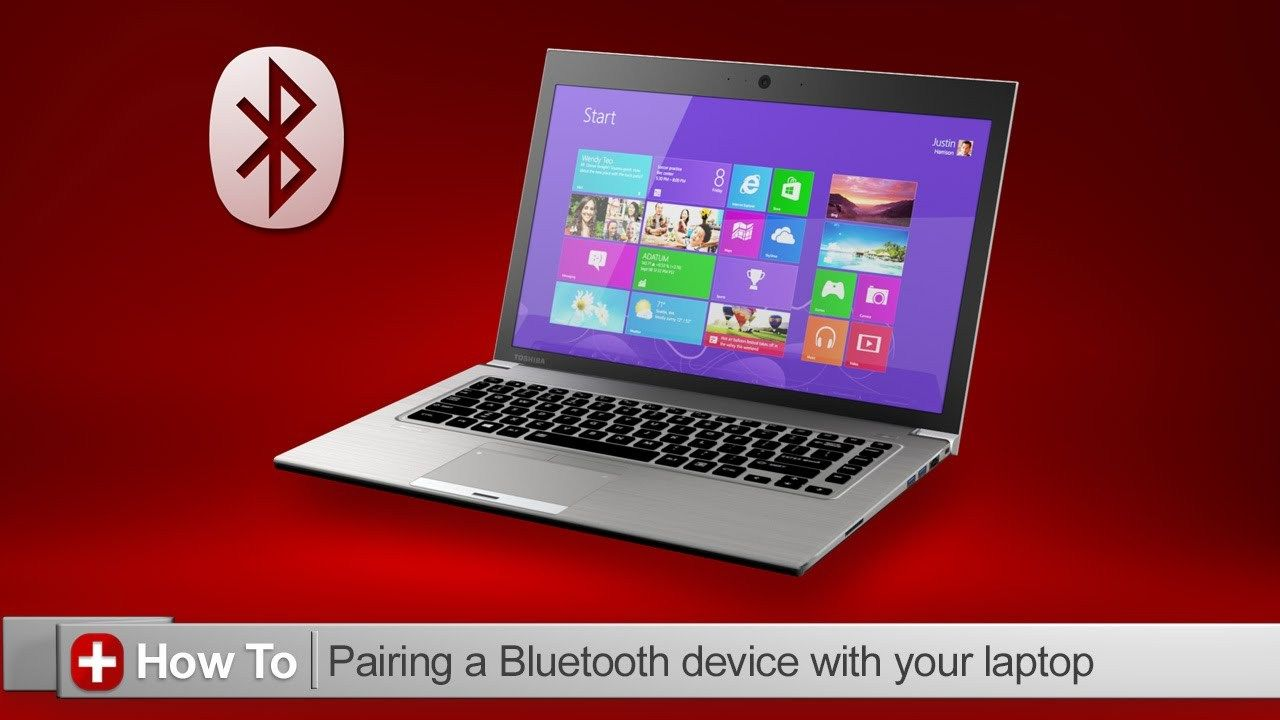 How To Connect Your Wireless Headphones To Pc Laptop Toshiba Bluetooth Device Laptop