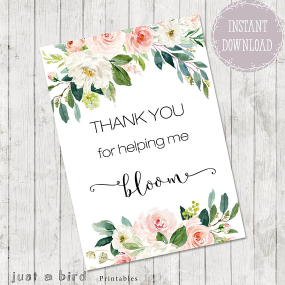 picture relating to Thanks for Helping Me Bloom Printable titled Thank your self notes for instructor, Instructor Appreciation Card