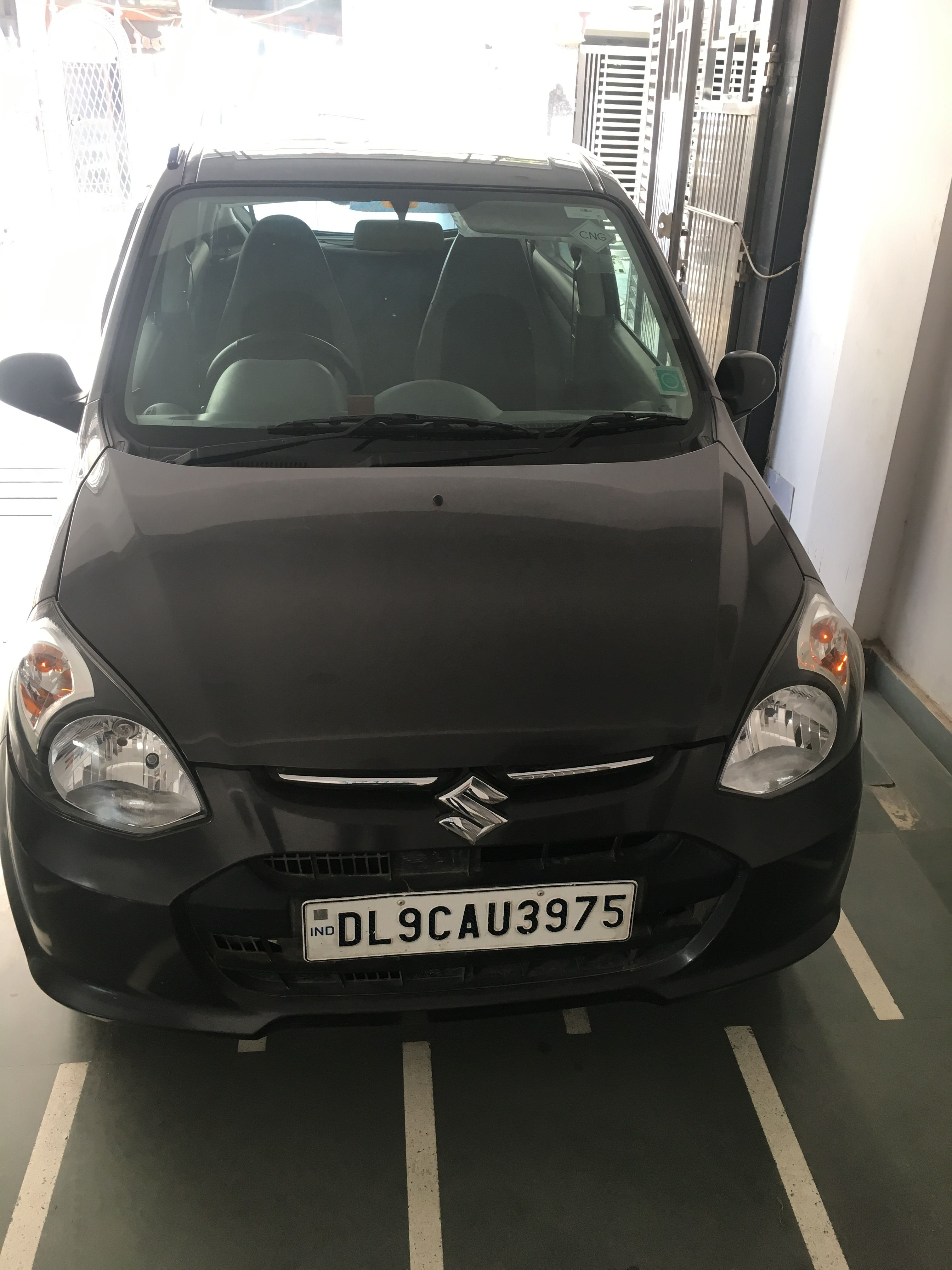 Maruti #Alto #CNG from #Delhi 2016 model Grey color driven only ...