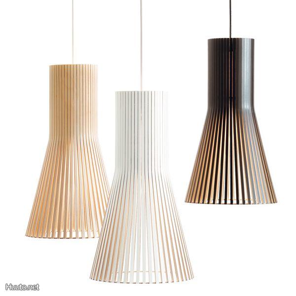Secto kattovalaisin Secto lamp | Wood pendant light
