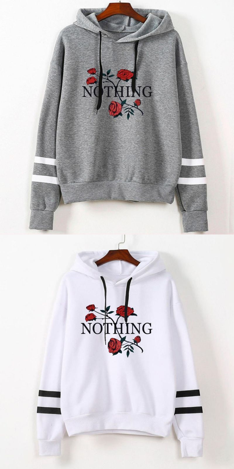 330aee51b Summer sweatshirts for women 2018 gray women's gown with a hood hoodies  ladies solid long sleeve