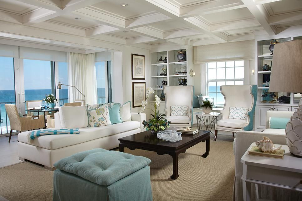 Rooms Viewer Beach Style Decorating Living Room Beach Theme Living Room Small House Interior Design #sea #themed #living #room
